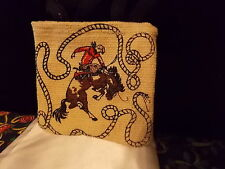 "COWBOY BRONCO RIDER PARTY MINI BAG FILLERS STOCKING STUFFFER PRIZE GIFTS 5""X5"""