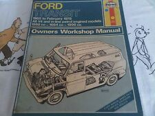 Ford Transit Mark 1 Petrol V4 & In-Line 1965 - 78 Haynes Owners Workshop Manual