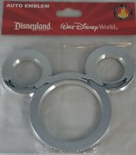 Disney Parks Mouse Ears Auto Emblem Adhesive Decal Car Vehicle Decoration - New