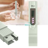 Portable Pen Digital TDS Meter Filter Measuring Water Quality Purity Tester