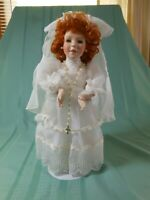 """Paradise Galleries Porcelain Dolls """"Theresa"""" w/c.o.a."""