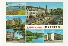 Gruesse Aus Krefeld Germany 1981 Postcard 478a