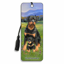3D Bookmark Rottweiler Dog Lover Gift Him Her Kids Puppy Animal Countryside