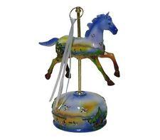 Musical Carousel Wind Up Horse Music Box Figurine Plays Tune Carousel Waltz #142
