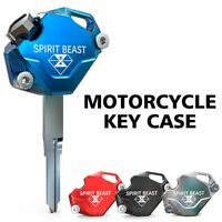SPIRIT BEAST Motorcycle Key Cover Case Shell CNC Aluminum for SUZUKI Yamaha
