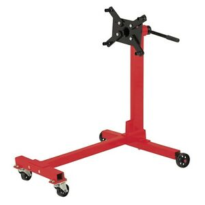 AUTOMOTIVE PITTSBURGH ENGINE MOTOR STAND 1000 LB CAPACITIY HOLDER ROTARY STEEL