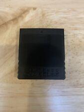 Official Nintendo GameCube Black Memory Card 251 DOL-014 Authentic Original OEM