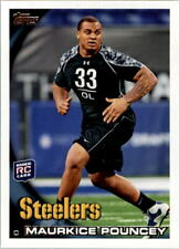 2010 Topps NFL Football #127 Maurkice Pouncey RC Pittbsburgh Steelers