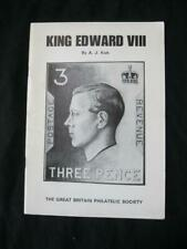 King Edward Viii A Study Of The Stamps by A J Kirk