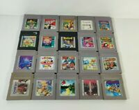 Nintendo Game Boy U Pick Games Chose Cart Only Rare Fun Family Action Puzzle