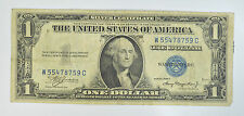 1935  $1 DOLLAR BILL SILVER CERTIFICATE BLUE SEAL NOTE new uncirculated