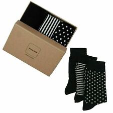 Mens New Jack & Jones 3 Pack Socks Gift Set Box Classic Style Christmas Present