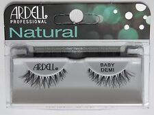 (LOT OF 3)  Ardell Natural BABY DEMI WISPIES False Fake Eyelashes Black Wispies