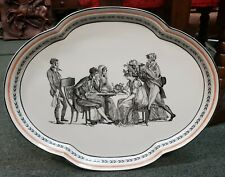 Mottahedeh Musee  Des Arts Decoratifs Platter Made in Italy