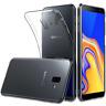 "Cover Custodia Gel Silicone Trasparente Clear Per Samsung Galaxy J6 Plus + 4G 6"""