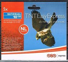 Express zegel TNT 2007 10:30 uur compleet boekje van 5 * START PLM NOMINAAL