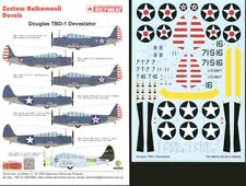 Techmod 1/48 Douglas TBD-1 'Devastator' at War # 48808