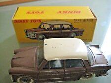 DINKY TOYS FRANCE 531 FIAT 1200 Grande vue avec glaces Réf 531
