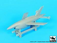 Black Dog 1/72 Ryan AQM-34 Firebee US UAV / Target Drone on Trolley 1960s A72058
