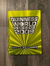 Guinness World Records 2009 Special 3D Photography Edition, New with 3D Glasses