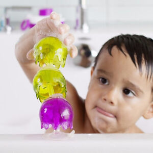 Boon Jellies Suction Cup Baby Bathtime Toys 12m+ Suction Toys BPA Free