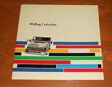 Billy Bragg William Blake 2-Sided Flat Square 1996 Promo Poster 12x12 RARE