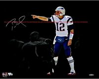TOM BRADY New England Patriots Autographed 8x10 Signed Photo Reprint