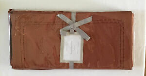 William Sonoma Hemstitched Linen Placemats Set Of Four (4)