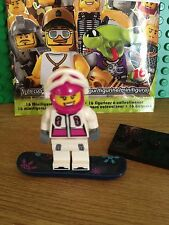 LEGO SERIES 3 SNOW BOARDER. MINT CONDITION