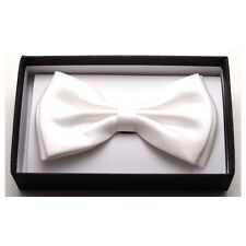 NEW BOWTIE WHITE Bow Tie Tuxedo Ties BowTies NEW PUNK