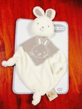 2 X Vaco Cuddly Soft Plush First Rabbit Toy For Baby Towel Comfort Handkerchief
