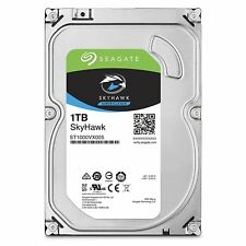 "Seagate SkyHawk 1TB Surveillance 3.5"" Hard Disk Drive 1 TB ST1000VX005 for NVR"