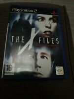 THE X FILES RESIST OR SERVE PS2 PLAYSTATION 2
