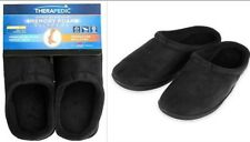 therapedic Size XLarge Unisex Classic Outlast Technology Slippers in Black