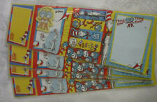 Dr. Seuss Sticky Notes & Flags In Folder The Cat In The Hat 4 Cards