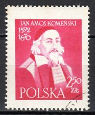 Poland - 1957 Jan Komenski (Comenius) (Scientist) - Mi. 1041 VFU