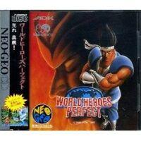 World Heroes Perfect Neogeo CD Japan Ver Neo Geo