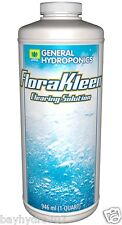 FloraKleen 32oz QT General Hydroponics Flushing Agent Nutrient Rinse BAY HYDRO