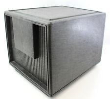Vintage Staco Tuf-File Dark Black Brown File Cabinet Office File Storage