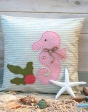 La cubierta Cojín Caballito de mar arena Kit de costura Mar recuerdos por Clara-edad 8+