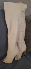 BILLINI ladies suede thigh-high (long length) boots Size 7