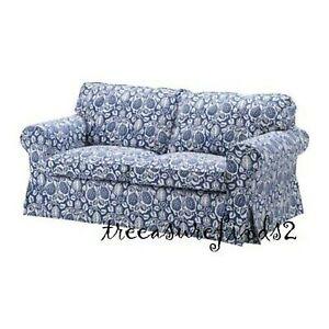 Ikea cover set for Ektorp 2-Seater Sofa in Klintbo Blue  901.439.00