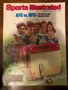 AFV VS NFC - SPORTS ILLUSTRATED - NOVEMBER 21, 1977
