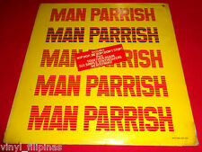 PHILIPPINES:MAN PARRISH - Man Parrish LP,Electro Pop,Old Style Hip Hop,RARE!!