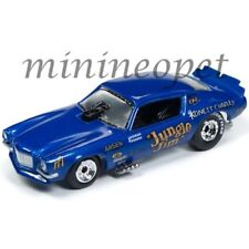 RACING CHAMPIONS RCSP002 1970 CHEVY CAMARO FUNNY CAR 1/64 JUNGLE JIM BLUE