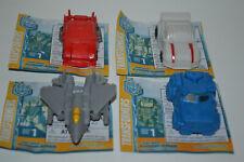 4 Transformers Cyberverse Tiny Turbo Series 1: Drift Soundwave Starscream Hotrod