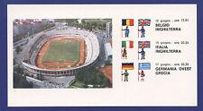 Orig.Karte     Europameisterschaft  ITALIEN 1980 - Stadion Comunale in Turin  !!