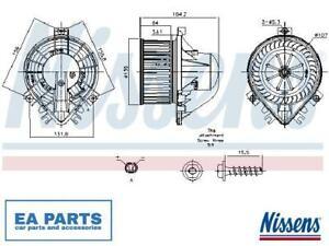 Interior Blower for MINI NISSENS 87711