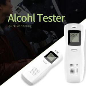 Digital LCD Polizei Elektronische Atemtest Alkoholtester Analysator Detektor