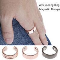 Acupresión anti ronquidos anillo ronquido tapón parada magnética insomniSC F4yu